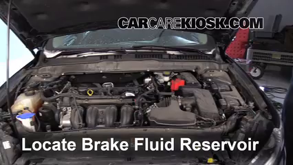 2014 Ford Fusion SE 2.5L 4 Cyl. Brake Fluid Add Fluid