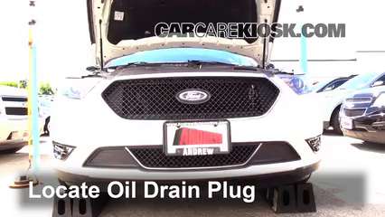 2014 Ford Taurus SHO 3.5L V6 Turbo Oil Change Oil and Oil Filter