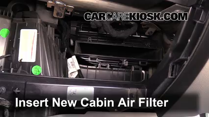 Replace on cabin air filter location 2015 f150