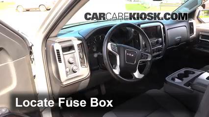 interior fuse box location 2014 2018 gmc sierra 1500 2014 gmc 1994 gmc pickup fuse box interior fuse box location 2014 2018 gmc sierra 1500