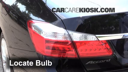 2014 Honda Accord EX-L 3.5L V6 Sedan Lights