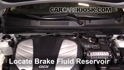 2014 Hyundai Azera Limited 3.3L V6 Brake Fluid