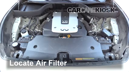 2014 Infiniti QX70 3.7L V6 Air Filter (Engine)