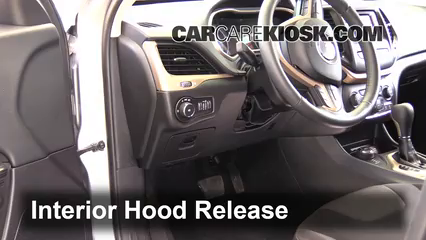 Open Hood How To 2014 2017 Jeep Cherokee