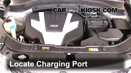 2014 Kia Sorento EX 3.3L V6 Air Conditioner