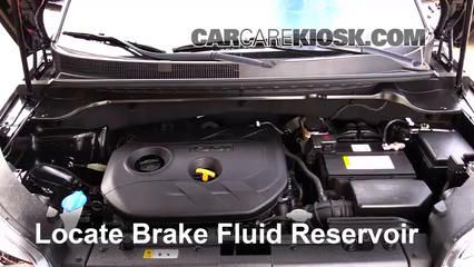 2014 kia soul ! 2 0l 4 cyl  brake fluid check fluid level