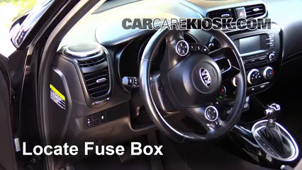 Interior Fuse Box Location: 2014 2017 Kia Soul   2014 Kia Soul ! 2.0L 4 Cyl.