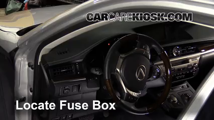 Fuse Interior Part 1 interior fuse box location 2013 2016 lexus es350 2014 lexus  at edmiracle.co