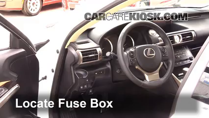 interior fuse box location 2014 2017 lexus is250 2014 lexus is250 rh carcarekiosk com 2009 lexus is250 fuse box diagram 2007 lexus is250 fuse box diagram