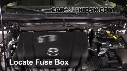 2014 mazda 3 touring 2 0l 4 cyl  sedan fuse (engine) check