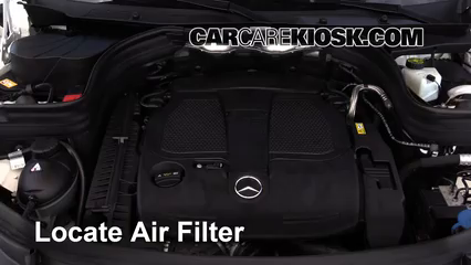 glk 350 engine diagram wiring diagram  2010 2015 mercedes benz glk350 engine air filter check 20143 remove filter all of the steps