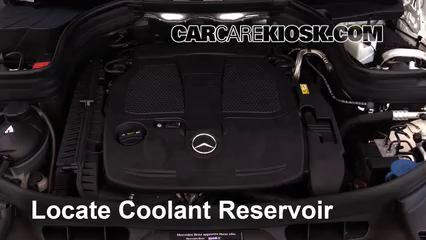 Fix Coolant Leaks: 2010-2015 Mercedes-Benz GLK350 - 2014