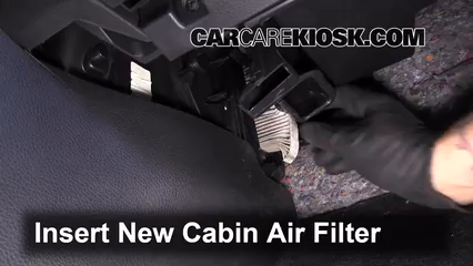 Cabin Filter Replacement: Nissan Altima 2013-2017 - 2014 Nissan Altima S 2.5L 4 Cyl.