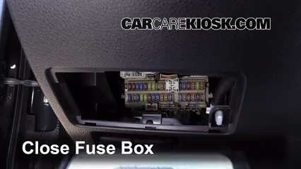 Interior Fuse Box Location: 2013-2017 Nissan Altima - 2013 ...