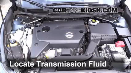 transmission fluid level check nissan altima 2013 2017 2014