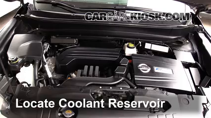 2014 Nissan Pathfinder SL Hybrid 2.5L 4 Cyl. Supercharged Coolant (Antifreeze)