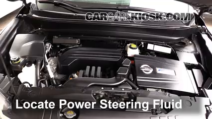 2014 Nissan Pathfinder SL Hybrid 2.5L 4 Cyl. Supercharged Power Steering Fluid