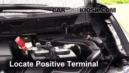 How To Start A Car With A Dead Battery >> How to Jumpstart a 2014-2019 Nissan Rogue - 2014 Nissan Rogue SL 2.5L 4 Cyl.