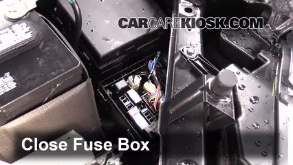 replace a fuse 2014 2017 nissan rogue 2014 nissan rogue sl 2 5l 4 rh carcarekiosk com fuse box on nissan rogue 2012 nissan rogue fuse box 2017