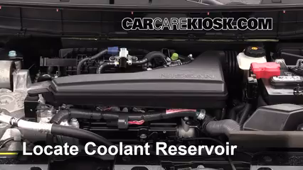 2014 Nissan Rogue SL 2.5L 4 Cyl. Coolant (Antifreeze)