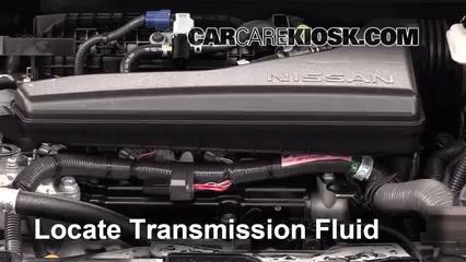 2014 Nissan Rogue SL 2.5L 4 Cyl. Transmission Fluid