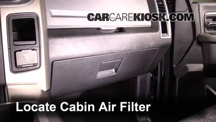 2014 Ram 1500 Big Horn 3.6L V6 FlexFuel Crew Cab Pickup Air Filter (Cabin