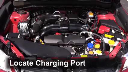 How to Add Refrigerant to a 2014-2018 Subaru Forester - 2014 Subaru