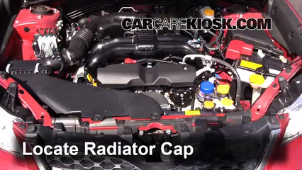 remove the radiator cap before draining