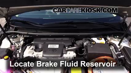 2014 Toyota Avalon Hybrid XLE 2.5L 4 Cyl. Brake Fluid Check Fluid Level
