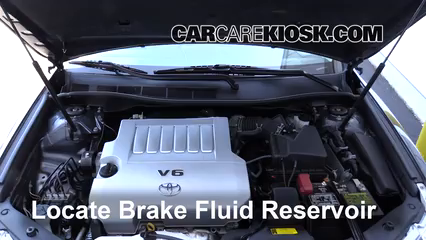 2014 Toyota Camry SE 3.5L V6 Brake Fluid Check Fluid Level
