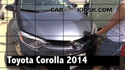 2014 Toyota Corolla S 1.8L 4 Cyl. Review