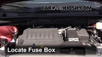 2014 toyota highlander le 3 5l v6 fuse (engine) check