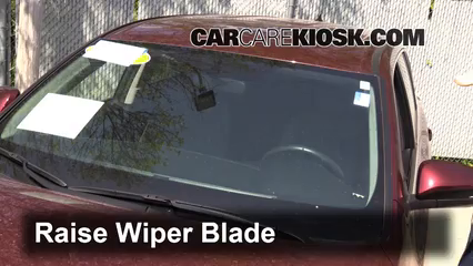 2014 Toyota Highlander LE 3.5L V6 Windshield Wiper Blade (Front) Replace Wiper Blades