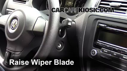 2014 Volkswagen Jetta SE 1.8L 4 Cyl. Turbo Sedan (4 Door) Windshield Wiper Blade (Front) Replace Wiper Blades