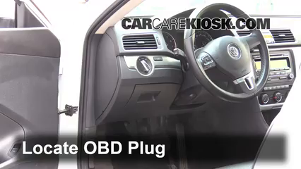 Interior Fuse Box Location: 2012-2019 Volkswagen Passat - 2014