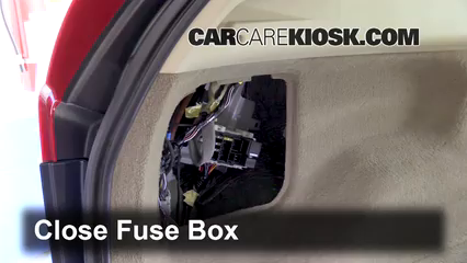Interior fuse box location volvo xc volvo xc