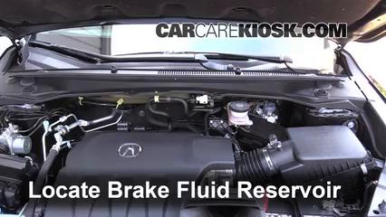 2014 Acura RDX 3.5L V6 Liquide de frein