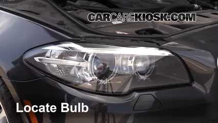 2014 BMW 535d xDrive 3.0L 6 Cyl. Turbo Diesel Luces Luz de carretera (reemplazar foco)