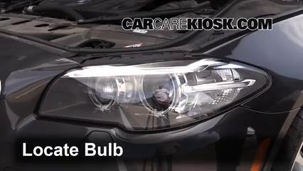 2014 BMW 535d xDrive 3.0L 6 Cyl. Turbo Diesel Luces Faro delantero (reemplazar foco)