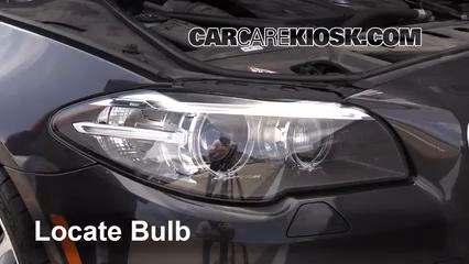 2014 BMW 535d xDrive 3.0L 6 Cyl. Turbo Diesel Luces Luz de estacionamiento (reemplazar foco)