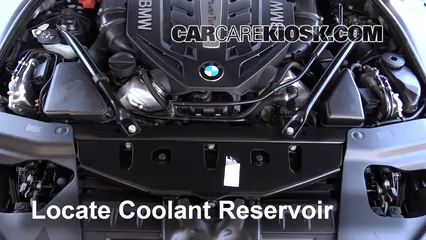 2014 BMW 650i xDrive Gran Coupe 4.4L V8 Turbo Coolant (Antifreeze) Flush Coolant