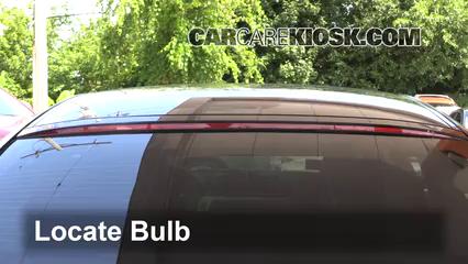 2014 BMW 650i xDrive Gran Coupe 4.4L V8 Turbo Luces Luz de freno central (reemplazar foco)