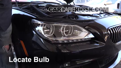 2014 BMW 650i xDrive Gran Coupe 4.4L V8 Turbo Luces Luz de marcha diurna (reemplazar foco)