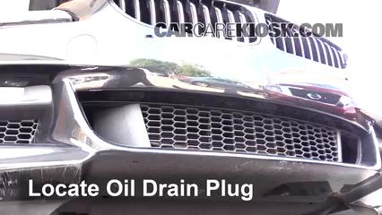 2014 BMW 650i xDrive Gran Coupe 4.4L V8 Turbo Aceite Cambiar aceite y filtro de aceite