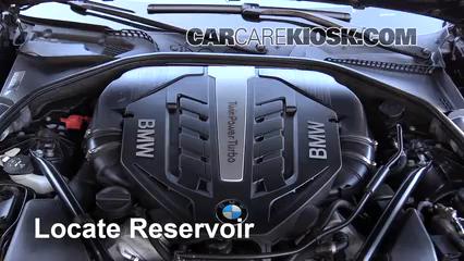 2014 BMW 650i xDrive Gran Coupe 4.4L V8 Turbo Liquide essuie-glace