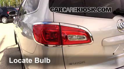 2014 Buick Enclave 3.6L V6 Lights