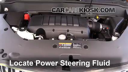 2014 Buick Enclave 3.6L V6 Power Steering Fluid