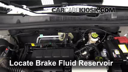 2014 Buick Encore 1.4L 4 Cyl. Turbo Líquido de frenos