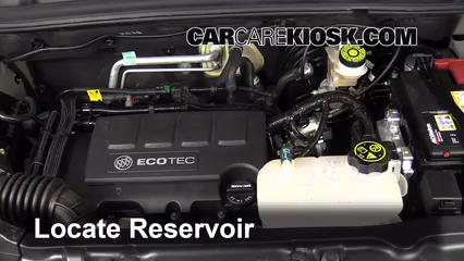 2014 Buick Encore 1.4L 4 Cyl. Turbo Líquido limpiaparabrisas