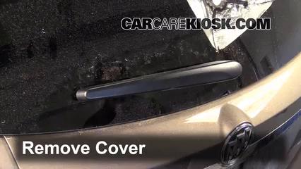 2014 Buick Encore 1.4L 4 Cyl. Turbo Escobillas de limpiaparabrisas trasero